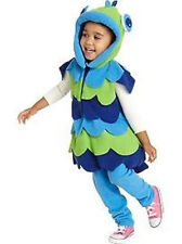 NWT OLD NAVY FISH COSTUME SIZE 6-12 MO BOYS GIRLS HALLOWEEN FLEECE BLUE GREEN