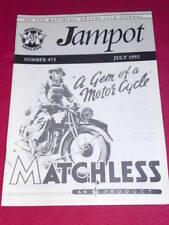 JAMPOT - AJS & MATCHLESS - July 1992 # 473