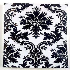Flower Motif Design Mosaic Tile Transfers  Stickers Bathroom Kitchen
