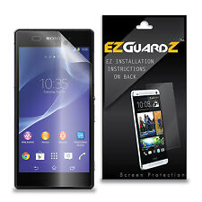 10X EZguardz HD Screen Protector Skin Cover 10X For Sony Xperia Z2 (Ultra Clear)