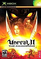 Unreal II The Awakening Xbox Game Disc and Case With Artwork No Manual Tested