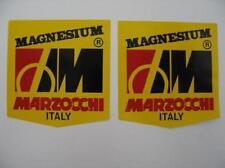 DUCATI TT2/F1/NCR/MV/BIMOTA/MARZOCCHI FORK SLIDERS  MAGNESIUM STICKERS