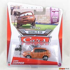 Disney Pixar World of Cars 2014 Cora Copper - RSN Racing Sports Network 6 of 8
