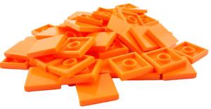 Lego 50 Stück Fliese in orange 2 x 2 (3068b) Neu Fliesen Kacheln Kachel Basic
