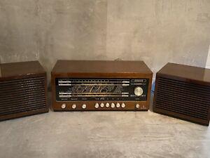 Vintage Design Radio Siemens Klangmeister RG 12 in Nussbaum Hochglanz
