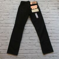Vintage Deadstock Levis 501 Student Pre Shrunk Denim Jeans Made in USA Black