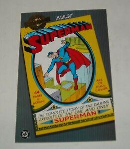 DC COMICS MILLENNIUM EDITION SUPERMAN # 1 DEBUT ISSUE REPRINTED ORIGIN RETOLD