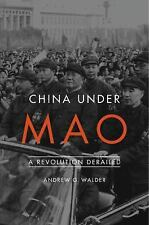 CHINA UNDER MAO - WALDER, ANDREW G. - NEW BOOK