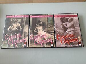 Coquins, coquines - 3 DVD - Anthologie de l'érotisme