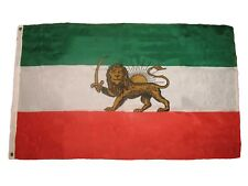 3x5 Old Iran Persia Lion Sun Premium Quality Polyester Flag 3'x5' House banner