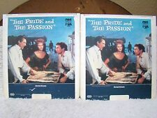 CED VideoDisc The Pride and The Passion (1957) Part 1 & 2 United Artists CBS/Fox
