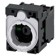 Siemens Sirius actuar bloque y titular de la luz 1NC, 1NO LED ámbar 6 â??? 24 V AC/DC Scre