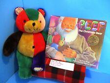 Princess Soft Toys Peef the Christmas Bear plush and book(310-131-3)