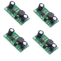 4 Pcs 3W/2W LED Light Driver 700mA 5-35V DC-DC Constant Current Module Board