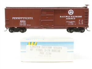 HO Walthers Limited Edition Series 932-2051B PRR Pennsylvania 40' Boxcar #2234