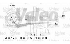 VALEO Alternador para OPEL ASTRA CORSA VECTRA COMBO KADETT CALIBRA FIAT 436684