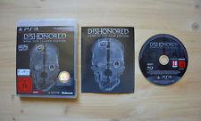 Ps3-Dishonored-Jeu de l'année Edition - (Neuf dans sa boîte, avec mode d'emploi)