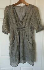 COUNTRY ROAD Dress Cotton Silk Size 8