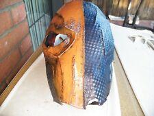 Deathstroke Arkham Origins Cosplay Mask Helmet Battle Damage look (SOLD AS IS)