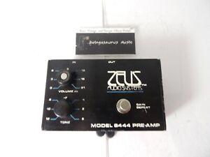 Rare Zeus Model 8444 Preamp Preamplifier Boost Effects Pedal Randy Rhoads Tone
