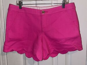 NWT Lilly Pulitzer 5in Buttercup Short Pink Size 10