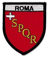 Patche Roma Rome écusson brodé transfert patch thermocollant