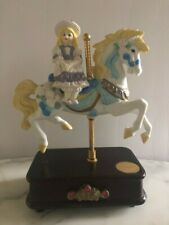 Vintage Westminster Carousel Collection Girl on Horse