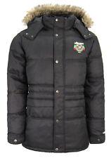 ellesse Original Mens Padded Hooded Jacket Black 257n190.300 BLK M7 XL