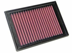 K&N 33-2510 for Peugeot 307 washable reusable high flow drop in panel air filter
