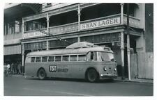 Transport Australia PERTH Trolley Bus c1950/60s Photograph by Packer