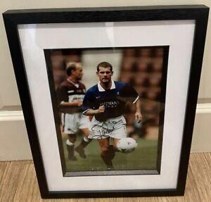 "Ian Durrant signed and framed 12x8"" Rangers photo / COA"