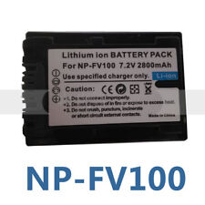 NP-FV100 Battery for Sony Handycam DCR-SX43 DCR-SX44 DCR-SX45S DCR-SX63 DCR-SX65