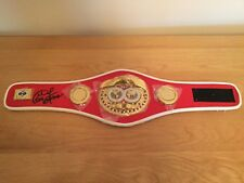 George Foreman Signed  - Half Size Replica IBF Boxing Belt *REDUCED*