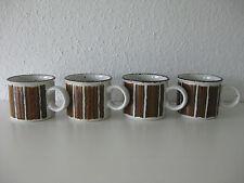 4 Kaffeetassen Midwinter Stonehenge EARTH 70erJahre