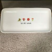 "Rae Dunn by Magenta ""Tis the Season."" Plant / Serving Tray"