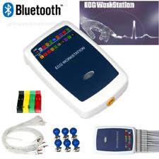 Bluetooth Ecg Workstation Portable 12 Lead Resting Pc Base Ekg Machine Software