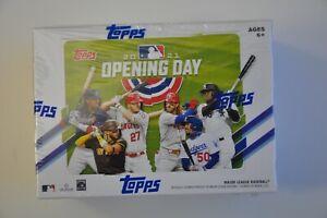 2021 Topps MLB Opening Day Sealed Blaster Box