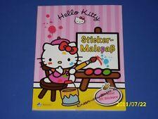 Hello Kitty Sticker-Malspaß Malbuch mit 30 Stickern (M)