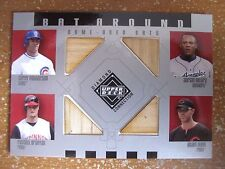 2002 UD DIAMOND CONNECTION BAT AROUND QUAD BATS PATTERSON/BELTRE/BRANYAN/DUNN