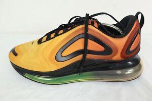 Nike Air Max 720 Sunrise Total Orange Black AO2924-800 Men's Size 11