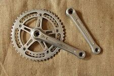Sugino Super Mighty Crankset 48/42 170mm 144 BCD vintage track road bicycle