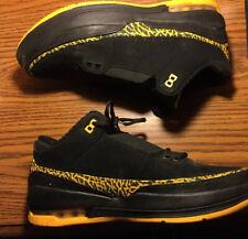 Jordan 2.5 Team Low Black/Yellow Shoes size 11