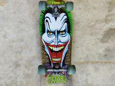 "Vintage Skateboard ""The Joker Vision"" Xr-2 Original Trucks and Wheels"
