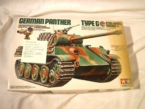 1/35 Dragon German Panther Ausf G Sold for Parts Not Complete