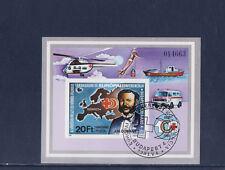Hongrie  bloc croix rouge Henri Dunant   1981  num: BF 153  ND oblitéré