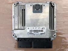 VAUXHALL ASTRA J SRI 2.0 CDTI 160BHP ENGINE ECU 55577674 2008-2014 A20DTH
