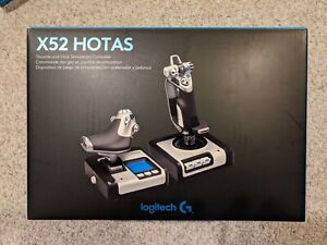 Logitech G X52 Hotas Throttle and Flight Stick