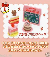 Re-ment Sanrio miniature Hello Kitty small cake Dessert shop cupcake set of 8