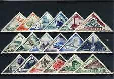 1953 MONACO TIMBRES TAXE YVERT ET TELLIER N°39A-55 xx