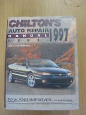 97-93 CHILTON'S AUTO REAPIR MANUAL FOR ALL CHRYSLER, FORD, GM MODELS & PLUS
